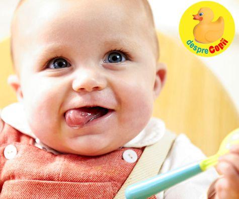 Diversificarea poate incepe cand bebelusul este pregatit pentru hrana solida