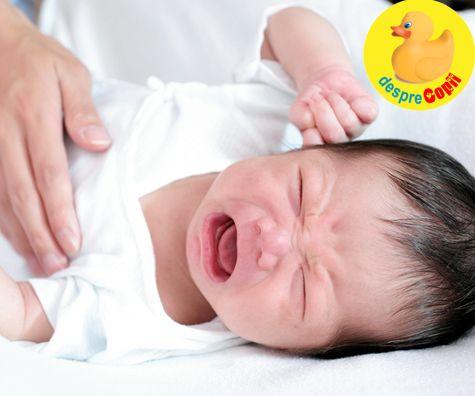 Alaptarea exclusiva si colicile bebelusului