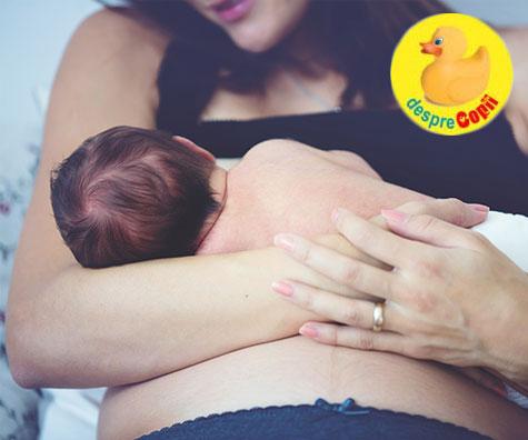 Alaptarea imediat dupa nastere sau primul vaccin al bebelusului