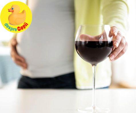 Alcoolul si sarcina - o combinatie care pune in pericol sanatatea si viata bebelusului