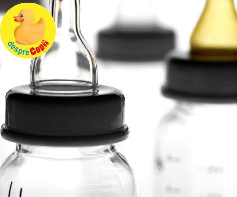 Cum alegi un biberon: criterii, tetine, cum curge laptele si ce trebuie sa stii despre calitatea materialului