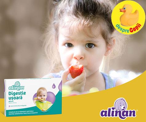 Cum ii asiguri copilului o digestie usoara