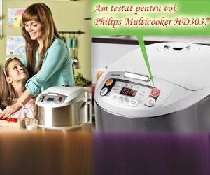 Philips Multicooker HD3037, un aparat destept care usureaza munca in bucatarie