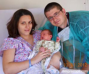 Prima zi din viata unui bebelus la Arcadia
