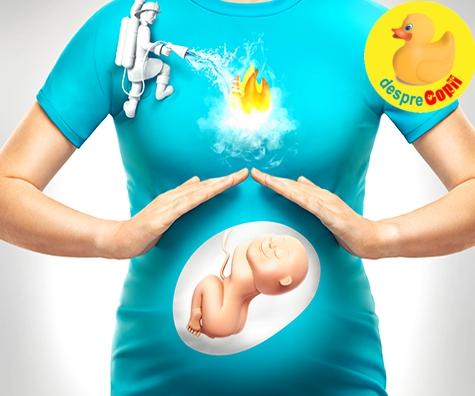 Arsurile la stomac din timpul sarcinii: cum se tin sub control si ce pot indica