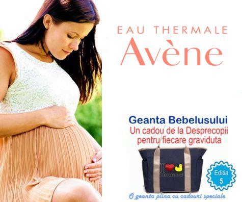 EAU THERMALE Avene - alaturi de gravidute la Geanta Bebelusului 5