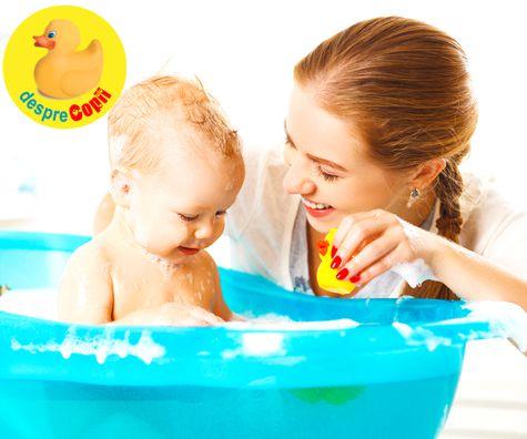 Baita si ingrijirea pielii delicate a bebelusului