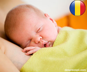 Top 10 prenume acordate pentru bebelusii nascuti in 2012 in Romania