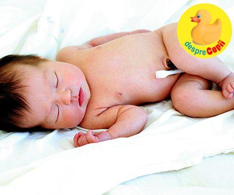 Ingrijirea buricului bebelusului