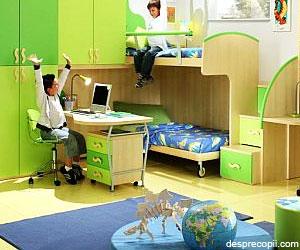 Idei pentru camera baietilor adolescenti