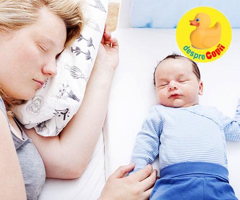 Co-sleeping sau cand bebe doarme in acelasi pat cu parintii: 7 mituri si multe adevaruri