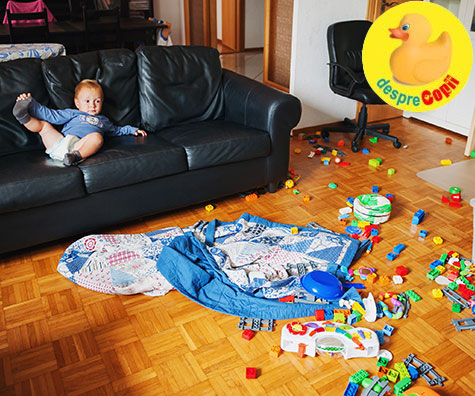 Copilul dezordonat este un copil inteligent!