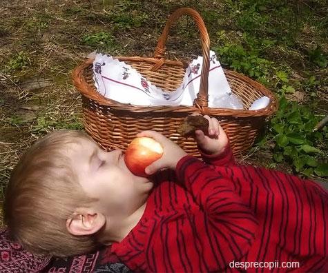 Natura ii face pe copii mai fericiti si mai destepti