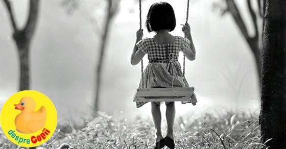 Despre copii si amintiri care raman fixate in memorie:…