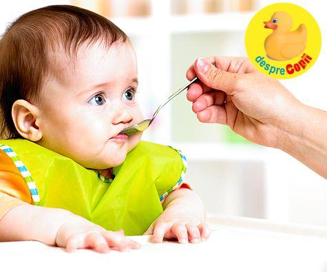 Diversificarea: Este bebelusul pregatit pentru hrana solida?
