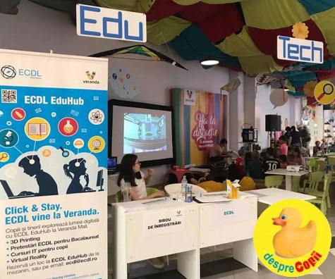 Edu Tech Kids, ateliere pentru copii organizate de ECDL la Veranda Mall