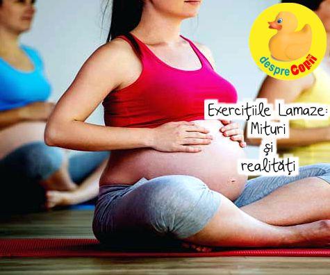 Exercitiile Lamaze: Mituri si realitati