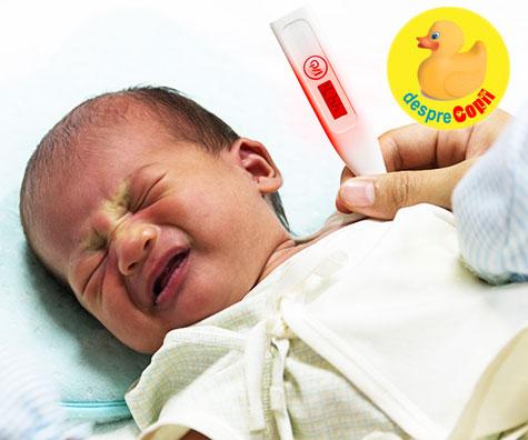 Cum sa tratezi prima febra a bebelusului tau