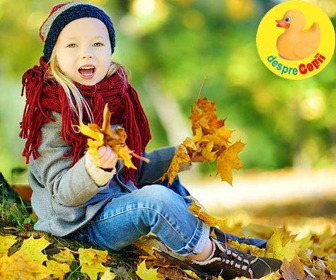 Cum crestem imunitatea copilului in perioada de toamna