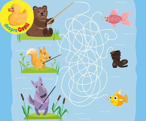 31 labirinturi pentru copii