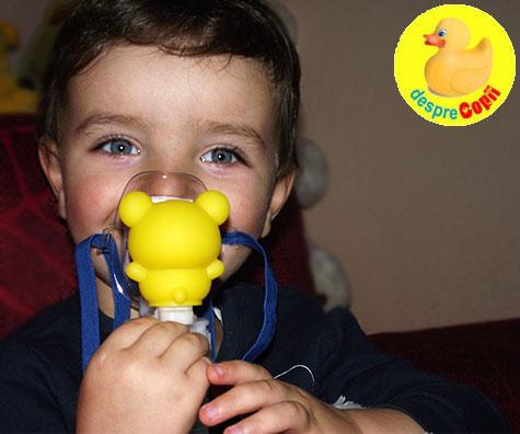 Cum ne convingem copilul sa foloseasca un nebulizator? Sfaturi si trucuri din transee