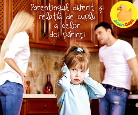 Cand cei doi parinti au metode diferite de parenting