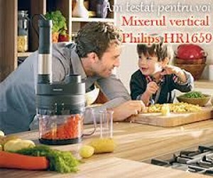 Nota 10 pentru Mixerul vertical Philips HR1659