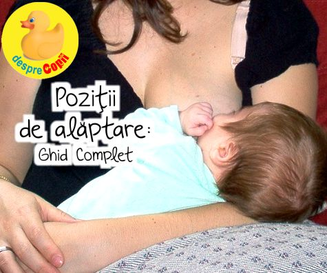 Pozitii de alaptare: Ghid Complet