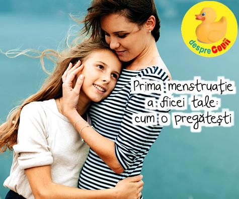 Prima menstruatie a fiicei tale: cum o pregatesti