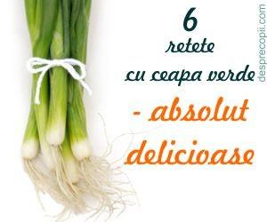 6 retete cu ceapa verde - absolut delicioase