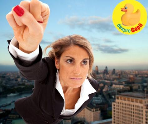 Sa fii femeie, mama dar si super-woman in Romania mileniului…
