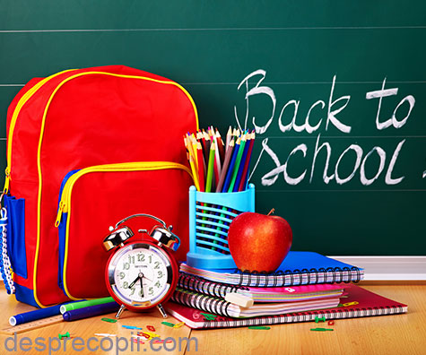 Vine scoala – cu ce umplem ghiozdanul?