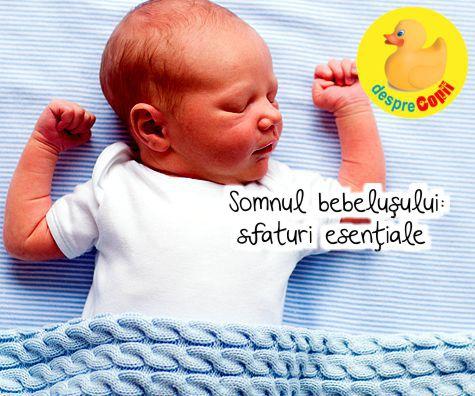 Somnul bebelusului: sfaturi esentiale