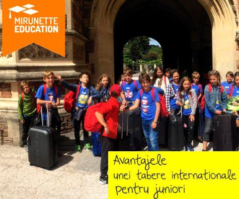 Avantajele unei tabere internationale pentru juniori