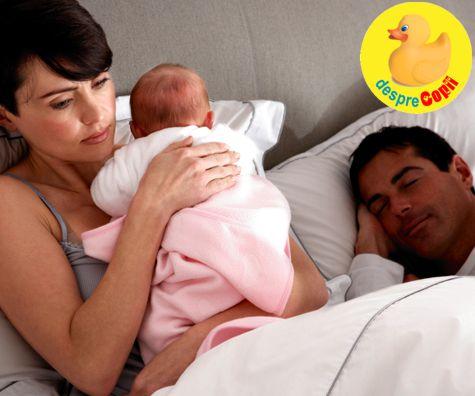 Unde doarme bebelusul - eterna dezbatere