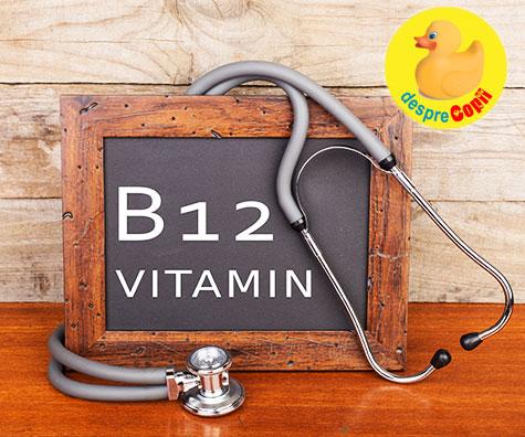 Deficienta vitaminei B12 poate cauza simptome ce imita imbatranirea