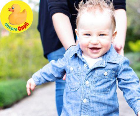 15 luni: educatia unui copil inca bebelus