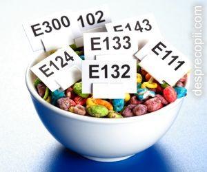 E-urile din alimente - Lista neagra a substantelor chimice care otravesc alimentele