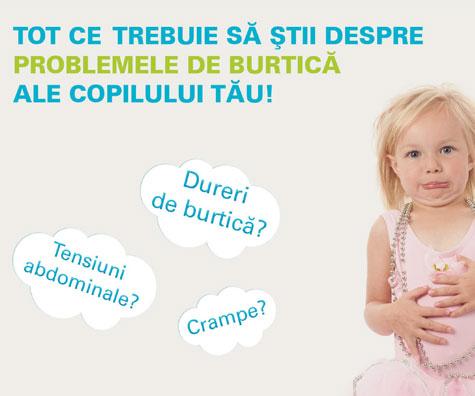 Digestia copilului si durerile de burtica