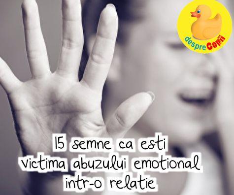 15 semne ca esti victima abuzului emotional intr-o relatie