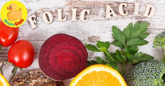 Acidul folic: Tot ce e nevoie sa stii despre aceasta vitamina esentiala sarcinii width=