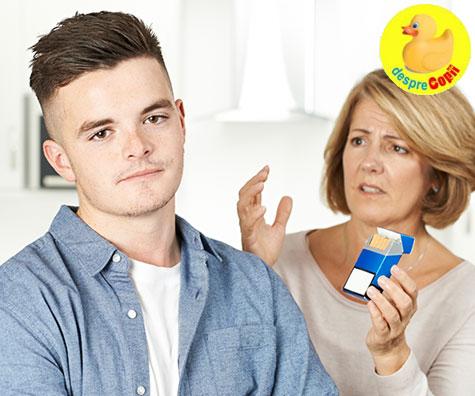 Discutiile parintilor cu adolescentul: despre droguri si alcool