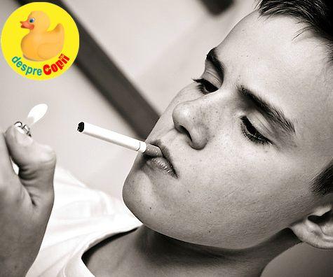 Adolescentii si fumatul