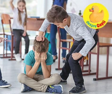 Efectele hartuielii (bullying-ul) asupra creierului copilului