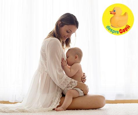 Alaptarea se schimba pe masura ce bebelusul creste: iata ce modificari esentiale vor apare