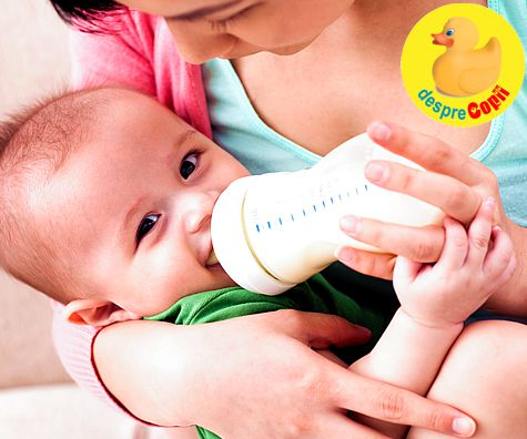 Alaptarea mixta a bebelusului
