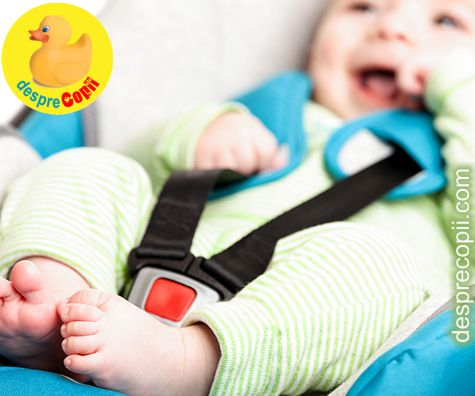 Cum alegem scaunul de masina pentru bebelus
