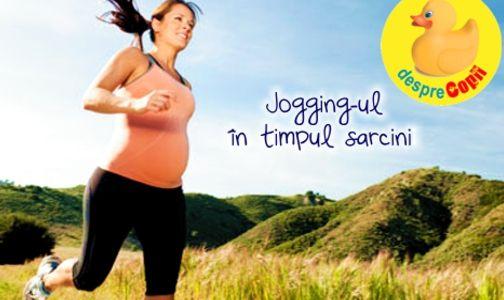 Jogging-ul in timpul sarcinii width=