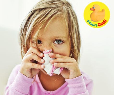 Alergiile respiratorii la copii si tratamente fitoterapeutice