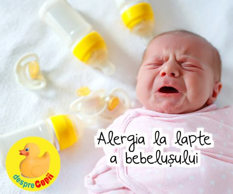Alergia la lapte a bebelusului